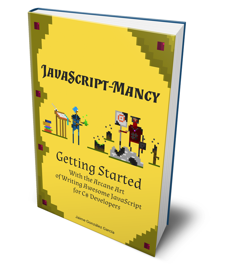 front cover of JavaScriptmancy Getting Started in 3D Wooo!
