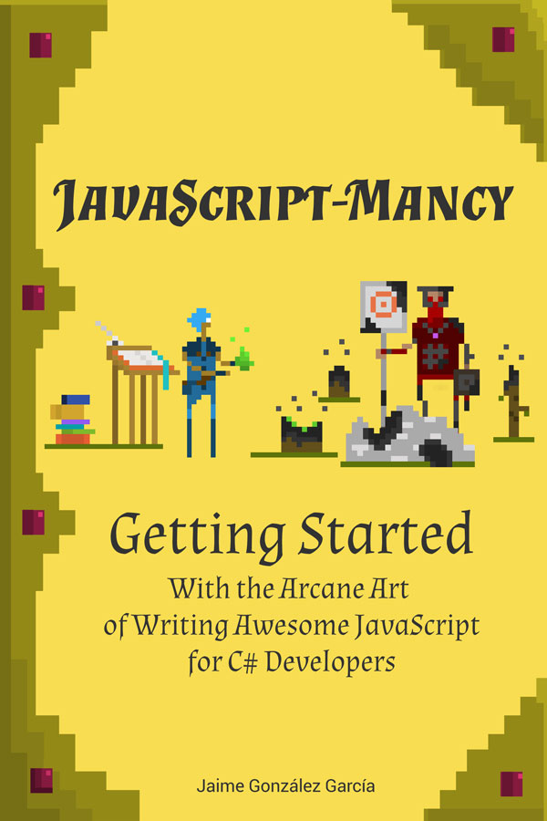 The JavaScript-mancy Getting Started Cover